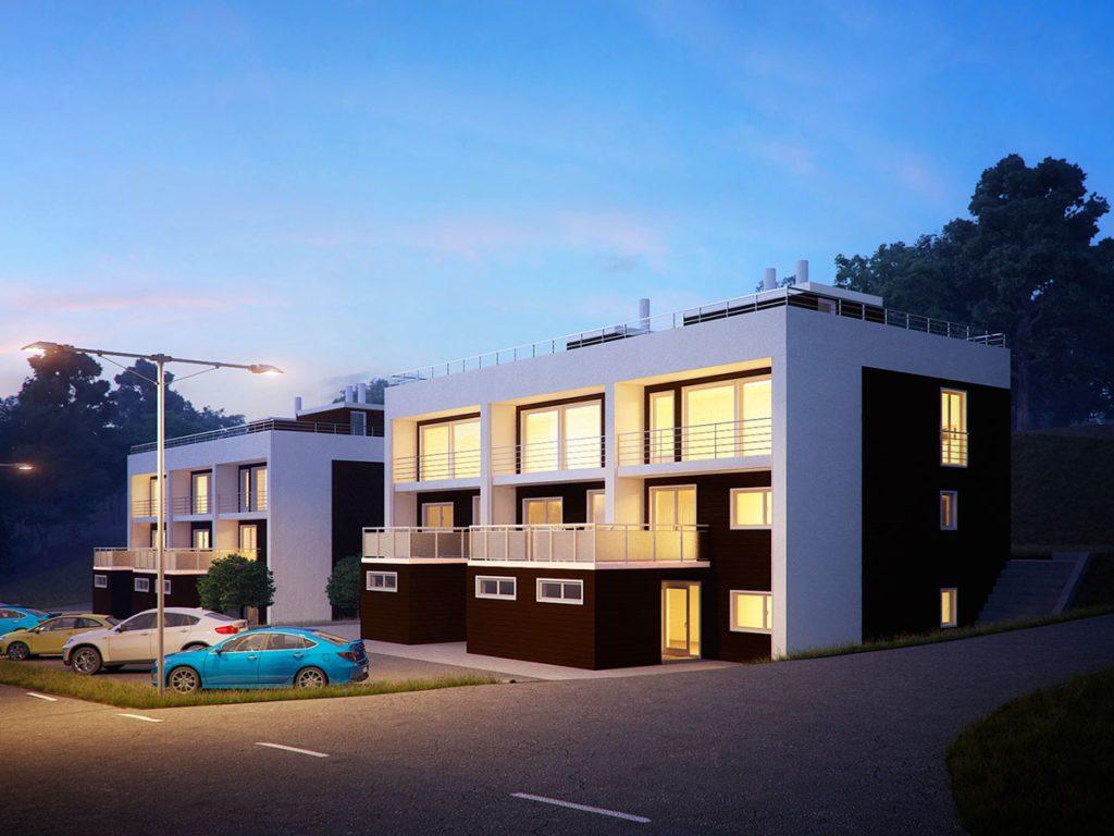 Terraced house by RenderBees